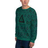 Impossible Triangles GR Unisex Sweatshirt - LESS is MORE Collection