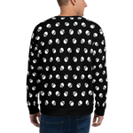 SKULL W-BL Sweatshirt - LESS is MORE Collection