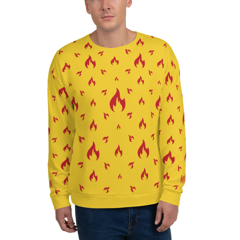 Fire YL Unisex Sweatshirt - LESS is MORE Collection