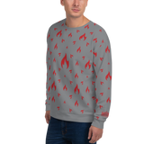 Fire GY Unisex Sweatshirt - LESS is MORE Collection