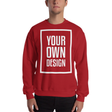 Your Own Design - Sweatshirt - Black, White, Color Variants