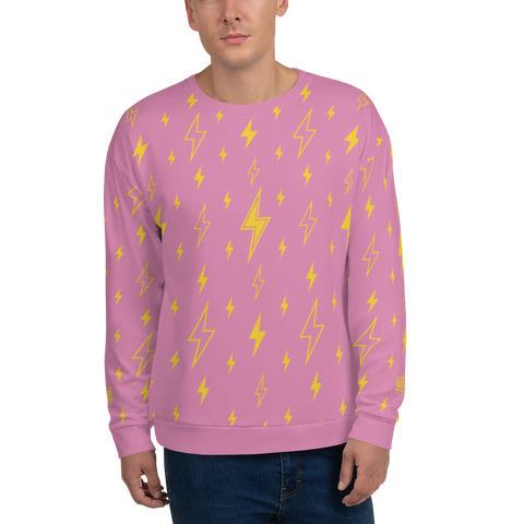 Bolt PN Unisex Sweatshirt - LESS is MORE Collection