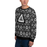Impossible Triangles BK Unisex Sweatshirt - LESS is MORE Collection