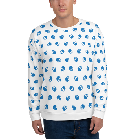 SKULL BL Sweatshirt - LESS is MORE Collection