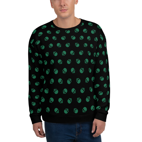 SKULL GR-B Sweatshirt - LESS is MORE Collection