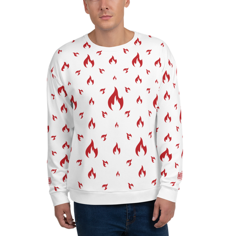 Fire WT Unisex Sweatshirt - LESS is MORE Collection