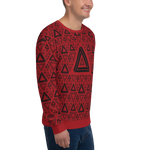 Impossible Triangles RD Unisex Sweatshirt - LESS is MORE Collection