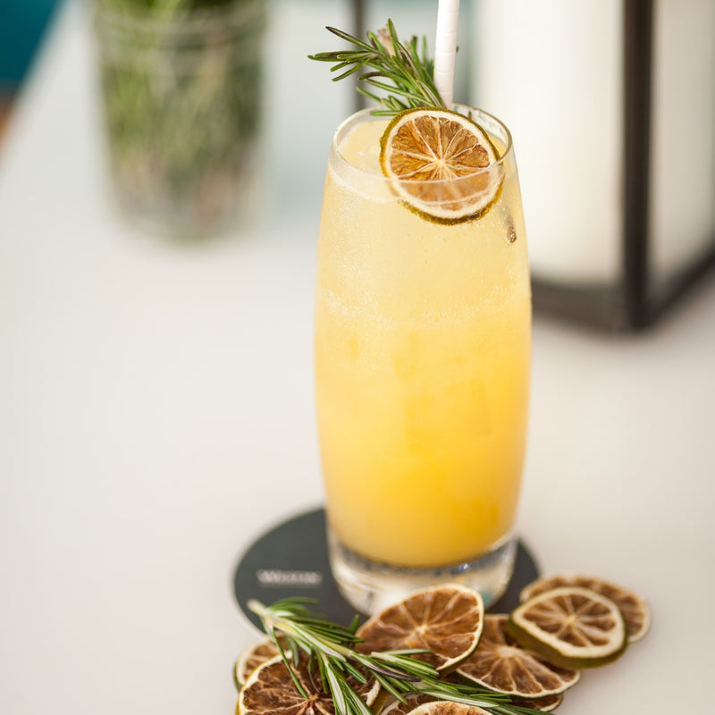 CBD Mocktail Recipe- Rosemary Janes