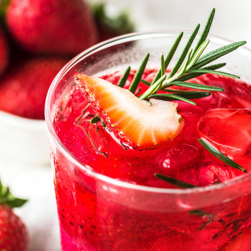 Strawberry Mojito CBD Mocktail