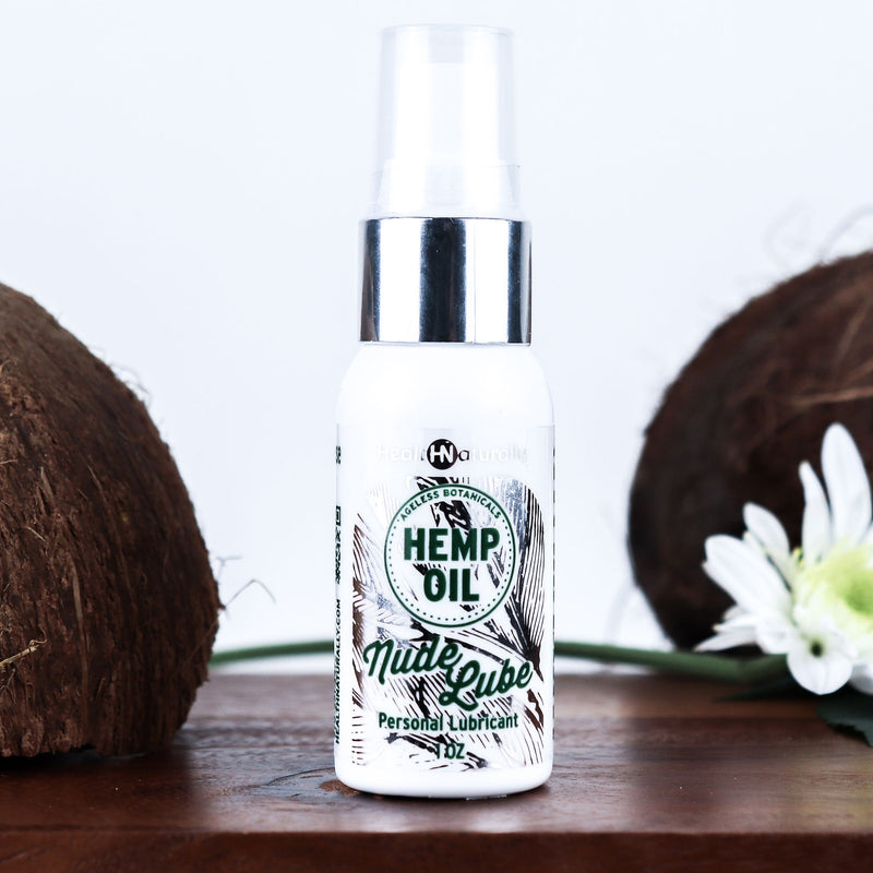 Hemp Oil Nude Lube 100mg
