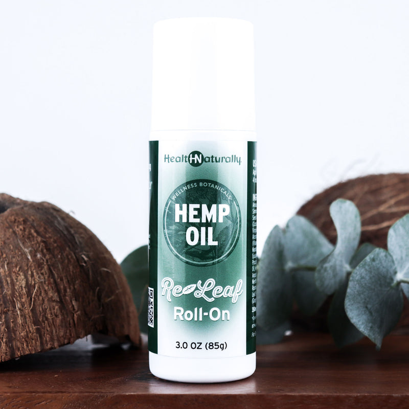 Hemp Oil Re-Leaf Roll-On 350mg (Formerly Pain Roll-On)