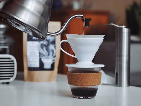 Water for coffee pour over