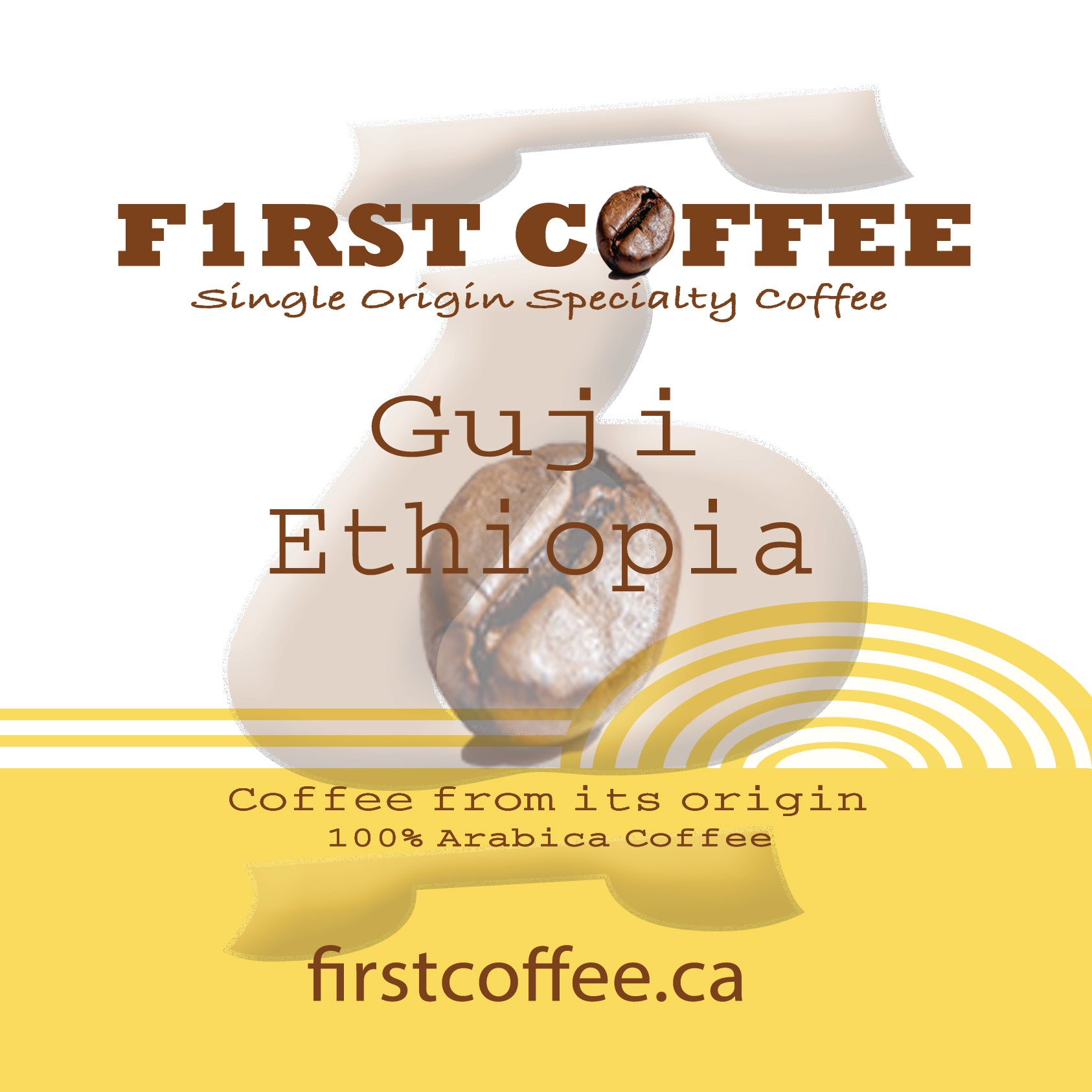 Guji-Roasted Ethiopian Coffee