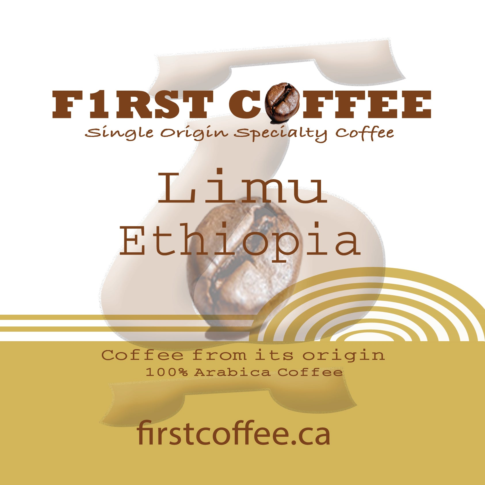Limu-Roasted Ethiopian Coffee