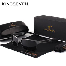 Load image into Gallery viewer, KINGSEVEN Men Polarized Sunglasses