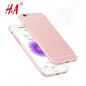 0.28mm Ultra thin matte Case cover skin for iPhone 6 6S Translucent slim Soft plastic Cellphone Phone case