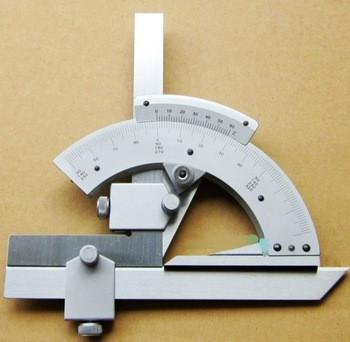 0-320Precision Angle Measuring Finder Scales Universal Bevel Protractor Tool