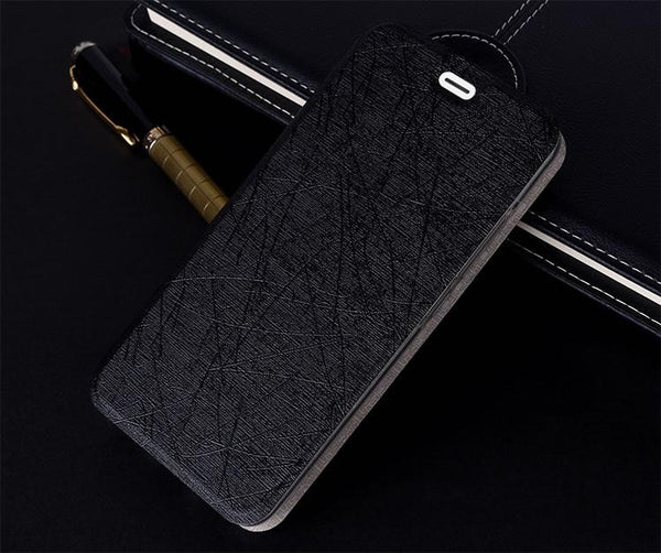 011 Quality 3 Colors Pu Leather Flip Case For Pptv King 7 King 7s Smart Phone