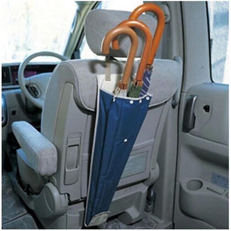 1 Pcs Universal Foldable Car Auto Seat Back Waterproof Umbrella Storage Organizer Cover Case Long Bag Pouch Car Accessories