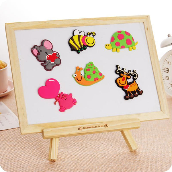 1pc Cartoon Animal Refrigerator Magnets Suck Decorative Stickers Affixed Magnetic Cute Magnets