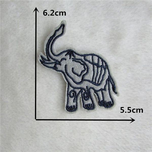 1pcs Sell C610-c643 Cartoon Patch Melt Adhesive Applique Embroidery Patch Diy Clothing Accessory Patch