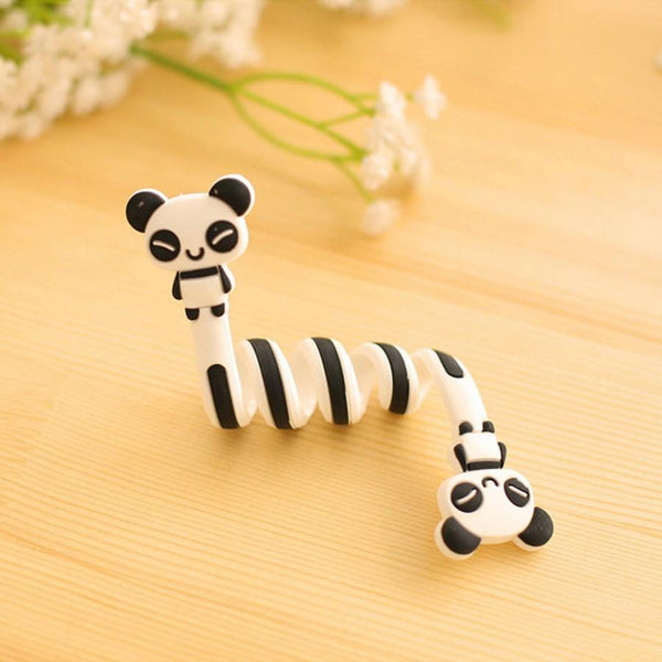 1x Lovely8 Style Optionalcartoon Animal Bobbin Winder Ear Mechanism Storage Line Hub Multi-function Cables To Receive Bag Clip