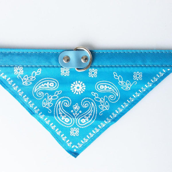 2015 Adjustable Dog Collar Pet Cat Bandana Scarf Neckerchief Collars Customized Paisley Pattern Chihuahua Accessories