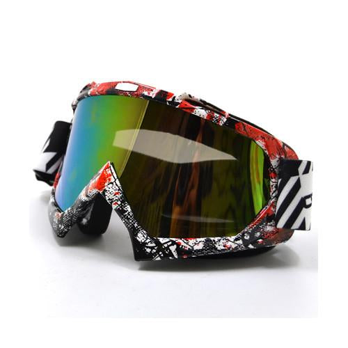 2016 Transparent Sport Racing Off Road Motocross Goggles Glasses For Motorcycle Dirt Bike