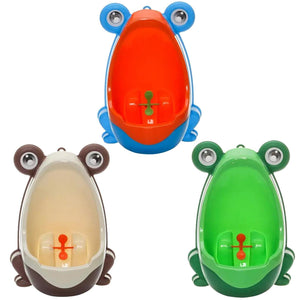 2016 Cute Lovely Frog Boy Children Kids Potty Toilet Training Kids Urinal for Boy Baby Pee Trainer Bathroom Boy Toliet ZLW42