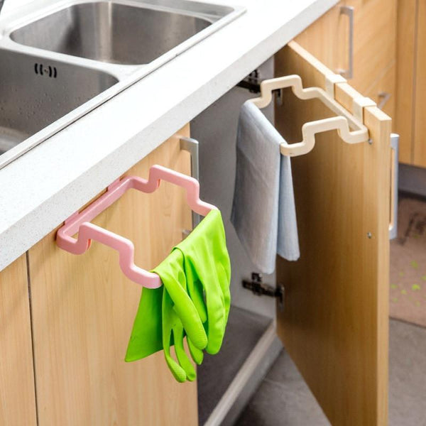 2016 Eco-feiendly Kitchen Door Back Hanging Style Cabinet Stand Trash Garbage Bags Support Holder