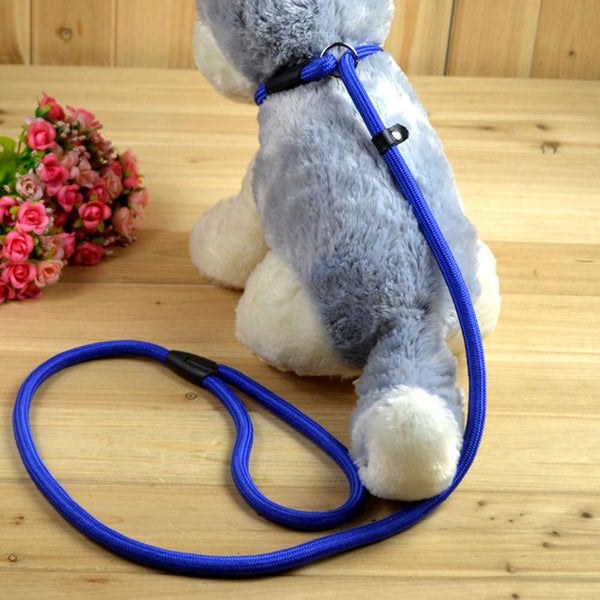 2016 Pet Dog Nylon Rope Training Leash Slip Lead Strap Adjustable Traction Collar 5GBY