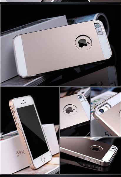 2016 Ultra Thin Aluminum Metal Case for iPhone 5 5S SE Luxury with Matte Surface Phone Bags Back Cover For Apple iPhone5s
