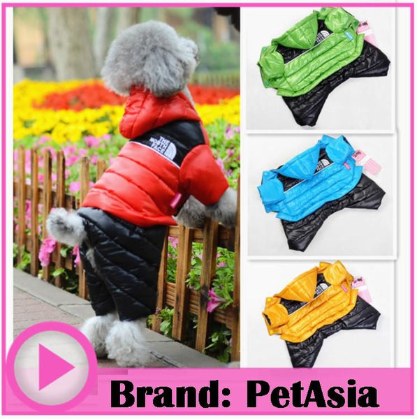 2017 Dog Pet Jacket Clothes for Pet Winter Clothes Super Cute six Color Pet Dog Clothing Coat for small dog Clothes Dress