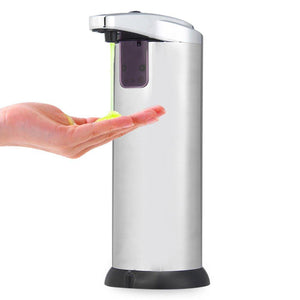 280ML Stainless Steel IR Sensor Touchless Automatic Liquid Soap Dispenser For Kitchen Bathroom Home 2016