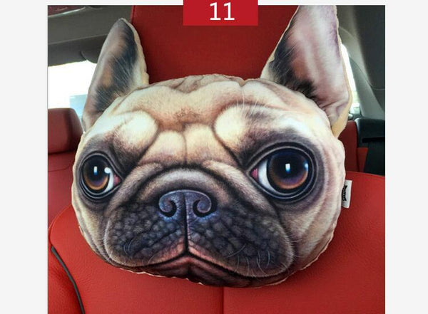 28cm*23cm Nordic Chair Personality Headrest Creative Cat Shape Nap Backrest Cute Automotive Occipital