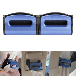 2pcs Brand Car-styling Seat Belts Clips Adjustable Stopper holder Plastic Clips for Vehicles