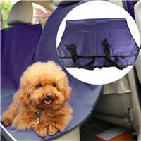 3 Colors Pet Dog Cat Car Rear Back Seat Waterproof Carrier Cover Pet Mat Blanket Hammock Cushion Protector And Clean For Car