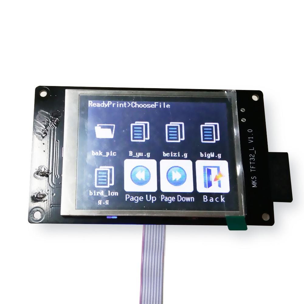 3.2 inch Mks Touch Screen Lcd Smart Controller Support U Disk And Sd Card For 3d Printer