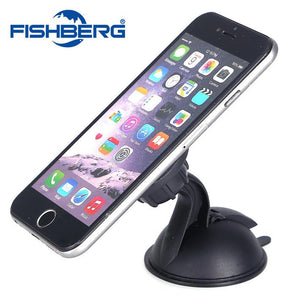 360 Degree Rotatable Universal Magnetic Mobile Phone Holder For iPhone6 6S 6plus Samsung XIAOMI HTC Sticky Car Kit Magnet Holder
