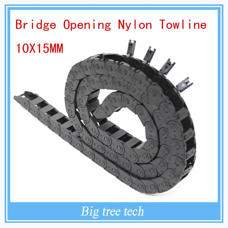 3d Pinter Accessory Bridge Opening Nylon Towline 1015mm Both Side Plastic Towline Cable Drag Chain