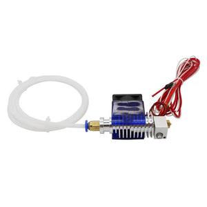 3d Printer V5 Jhead End With Cooling Fan And Tube For 1.75 3.0mm Filament Wade Extruder 0.3 0.4 0.5mm Nozzle Option