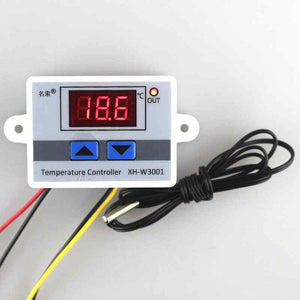 '-50~110C Intelligent Digital Thermostat AC 220V 10A Digital Temperature Controller Regulator Switch
