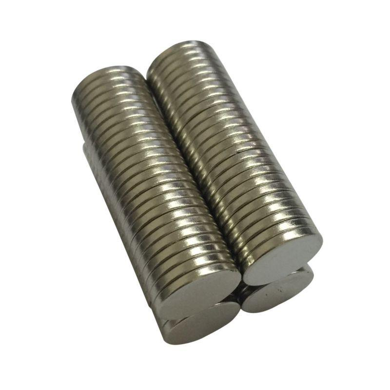 50pcs N50 Dia 12mm x 1 mm Strong Round Magnets Neodymium Magnet Rare Earth Magnet Home Decorations