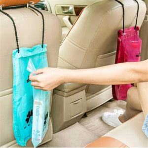 50Pcs Set Car Organizer Back Seat Garbage Storage Bag Car Trash Bag Recycle Bin Rubbish Bag Auto Backseat Hanging Wastebasket