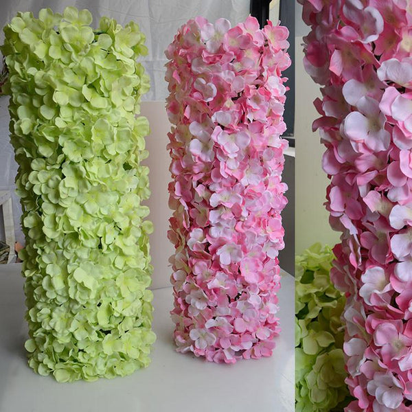 60*40cm Hydrangea DIY wedding arch Setting wall decoration Road led flower T stage decorative Po background Noble Carpet type