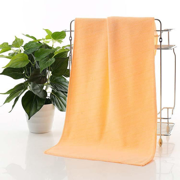 70 * 30cm Microfiber Fast Drying Towel For Travel Camping Beach Beauty Gym Sports Soft Face Hand Bath Wash Car Towel