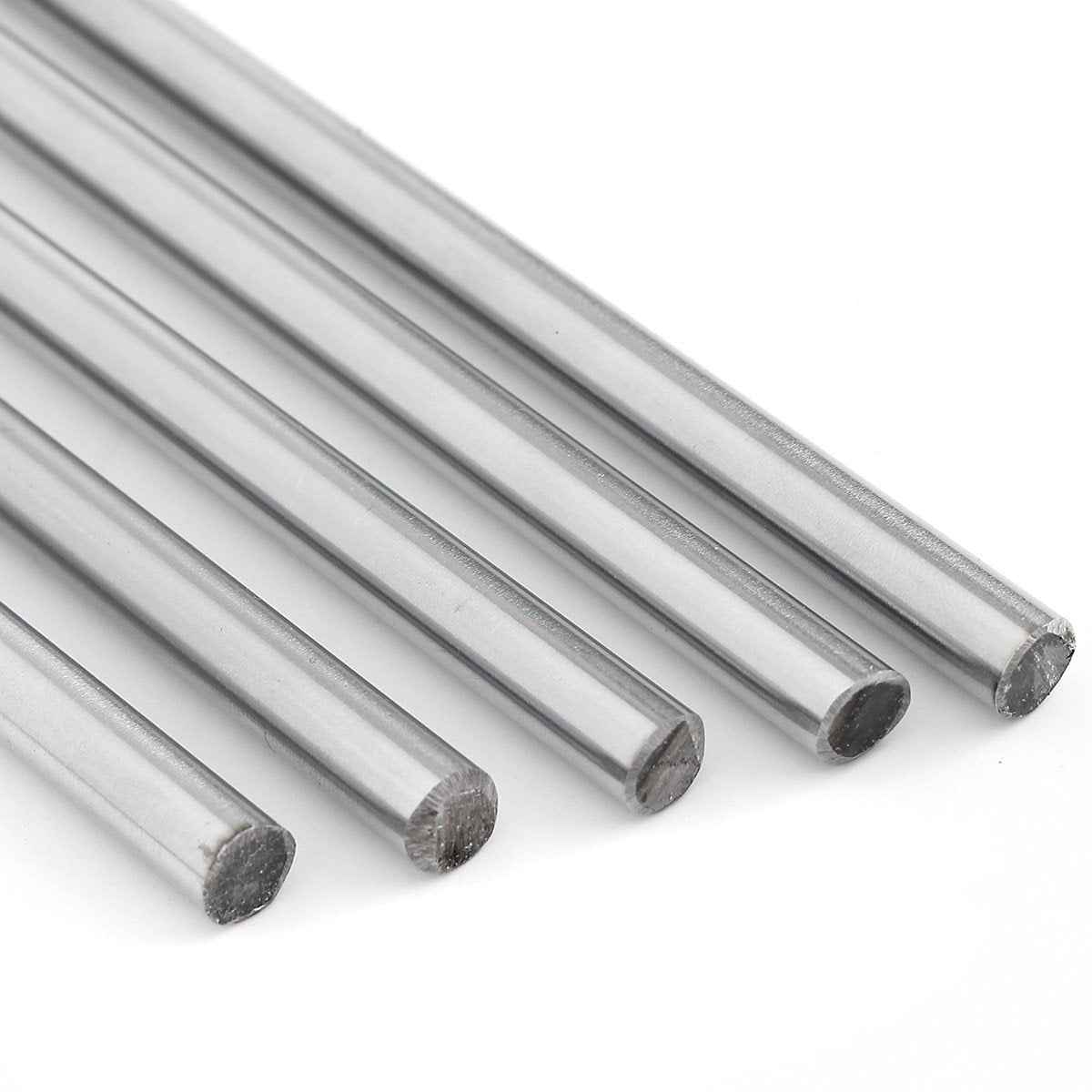 8mm Linear Rod 300 380 400 500mm 600m Chrome Harden Linear Shaft Guide Cnc 3d Printer Parts Liner Rail Linear Shaft Optical Axis