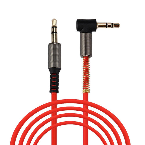 Auto 2016 Top Helical Conductor M To M 3.5mm 1.2 M Car Aux Auxiliary Sound Stereo Audio Cable Mp3 Oc 14