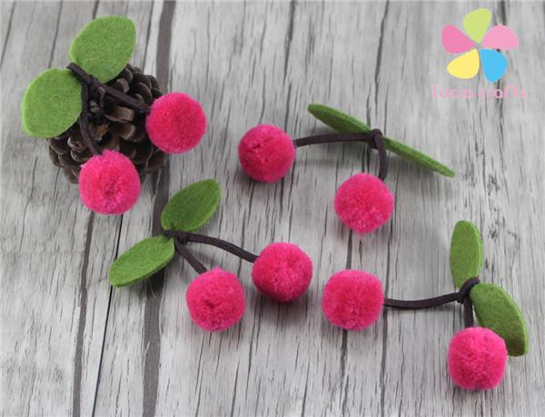 Approx 2cm Pompoms Fruit Craft Handmade Material Diy Garment Mixed 2pcs 6pcs 20010035
