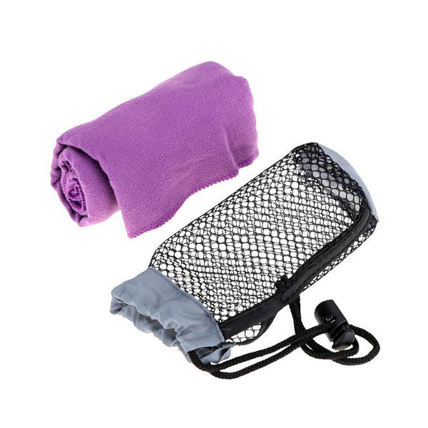 Bluefield Quick Drying Microfiber Antibacterial Ultralight Compact Towel Camping Hiking Hand Face Towel Outdoor Travel Kits